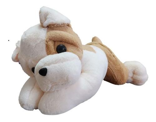 Imagen 1 de 1 de Perro De Peluche Bull Dog Super Hermoso Grande 50 Cms