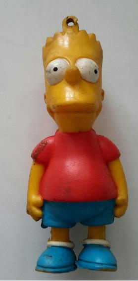 Antiguo Llavero De Los Simpsons De Bart