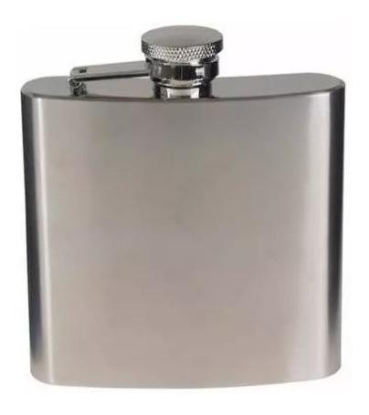 Petaca 7oz Acero In 200cc Whisky Bebidas Blancas Microcentro