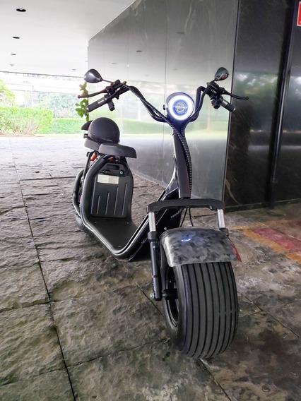 Scooter Eletrica Chopper, Patinete Elétrica, Moto Eletrico