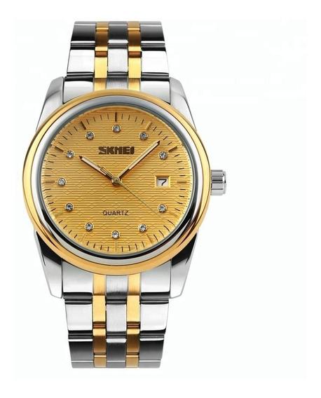 Reloj Skmei De Mujer, De Cuarzo, Acero Inoxidable