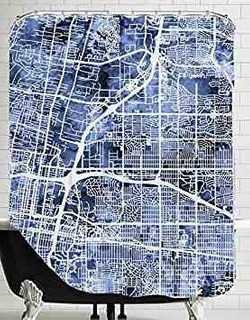 American Flat Albuquerque New Mexico City Street Map New 4