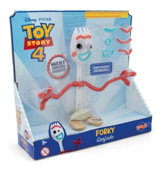 Boneco Forky Garfinho 16cm Toy Story 4 Disney - Toyng