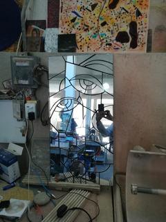 Exclusivo Espejo Estilo Picasso