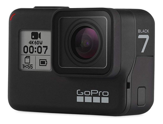 Gopro Hero 7 Black Originais 4k 12mp 60fps 1080p 240fps.
