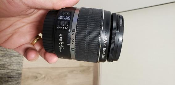 Lente Canon Efs18-55mm Is F/3.5-5.6 + Filtro Uv