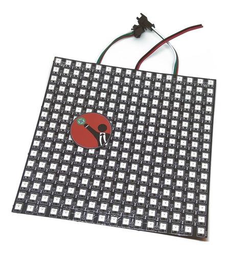 Matriz Led Rgb 16×16 Ws2812 Ws2812b 5050 Neopixel 5v Arduino