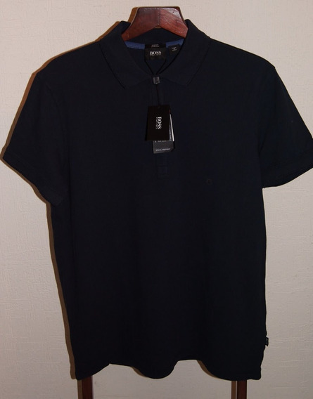 Hugo Boss Playera Polo Talla L Color Negro Original