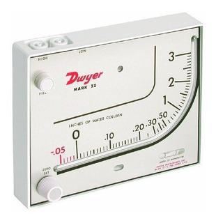 Dwyer Series Mark Ii 25 Manometro De Plastico Moldeado Incli