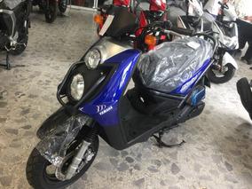 Yamaha Bws 125, 2018 0 Km, Azul