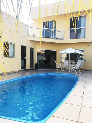 Casa Com 4 Dormitórios À Venda, 321 M² Por R$ 1.350.000,00 - Carianos - Florianópolis/sc - Ca3327