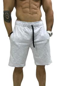 Kit 6 Bermuda Moletom Shorts Slim Calção Original Listrado