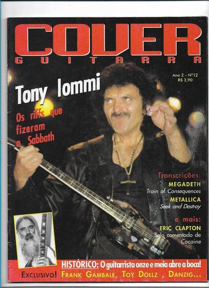 Cover Guitarra Ed 12 Revista Tony Iommi Black Sabbath Metal
