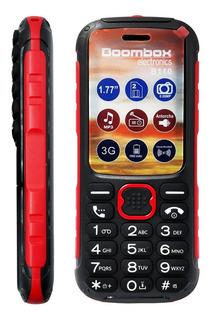 Celular Mp3 Boombox B110 Uso Rudo Rojo