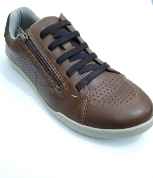 Tenis Sapatenis Masculino West Coast Couro - Original