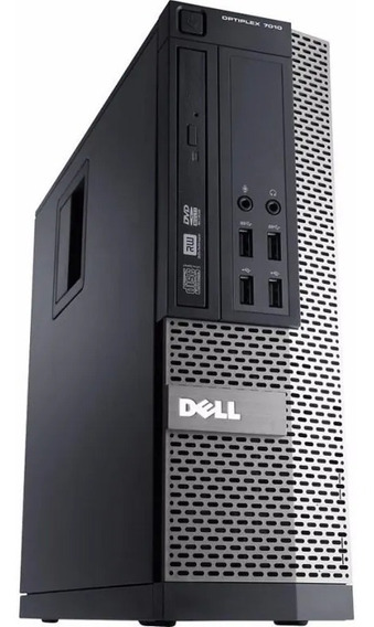 Cpu Empresarial Dell Optiplex 3020 I3 4gb Hd500gb W10