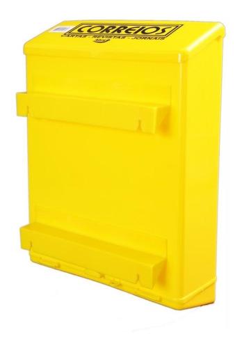 Imagem 1 de 3 de Caixa De Correio Plástica Grade Portão Goma
