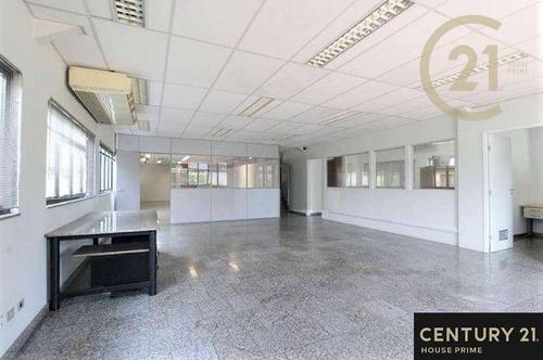 Conjunto Comercial Para Alugar, 250 M², 4 Vagas Por R$ 6.500/mês - Alto De Pinheiros - São Paulo/sp - Cj4433