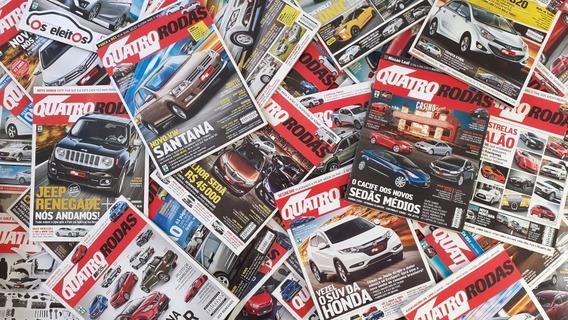 80 Revistas Qr Quatro Rodas De 2008 A 2018