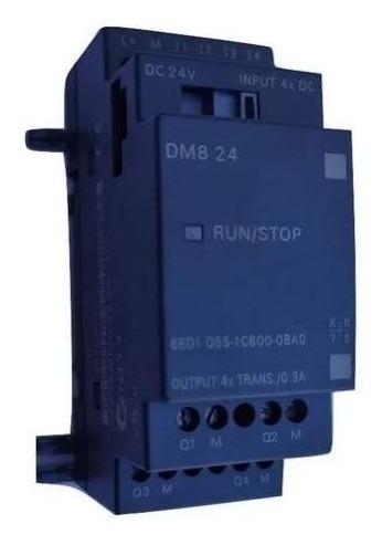 Módulo De Expansão Logo Dm8 24r Siemens 6ed1055- 1cb00-0ba0