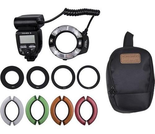 Flash Circular Yongnuo Yn-14ex Ii Ttl Ring Canon 12x S/juros