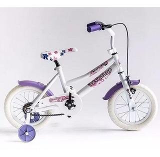 Bicicleta Reynolds 909 Rod.12 Ruedas Goma Eva Y Rayos