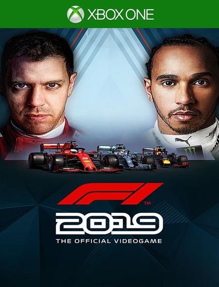 F1 2019 Xbox One - 100% Original (25 Dígitos)