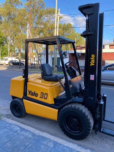 Autoelevador Yale 3 Tn 3 Vias Hidraulicas Corrector De Uña