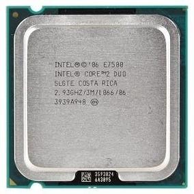 Processador Core2duo E7500 - 2.93ghz.
