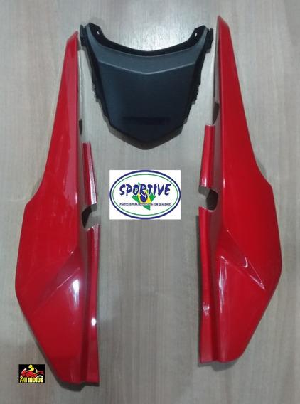 Rabeta Para Moto Honda Fan 150 Esdi Vermelha 2014 E 2015