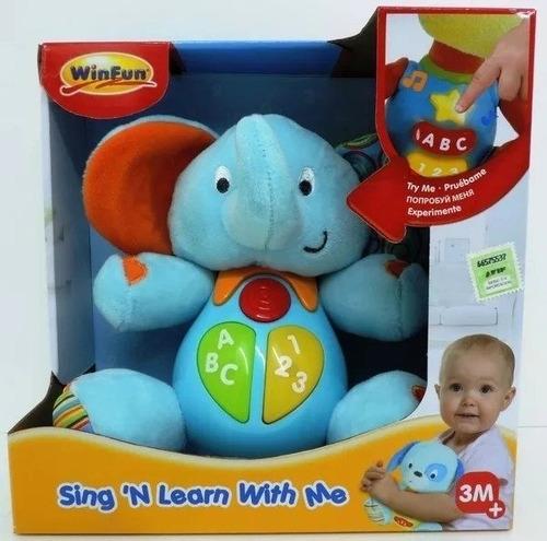 Elefante Win Fun Aprende Conmigo - Aj Hogar