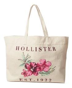 Bolsa Hollister Feminina 100% Original Floral