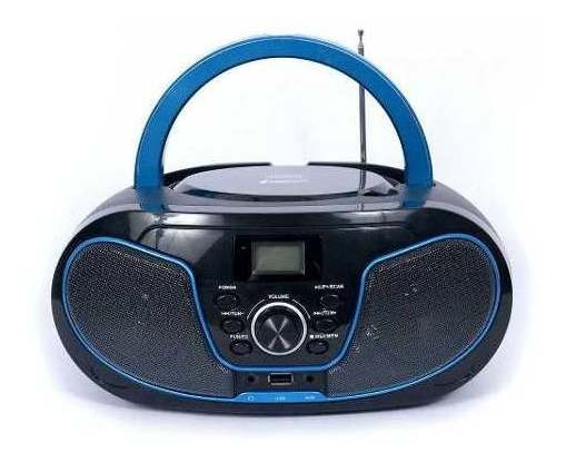 Rádio Bluelife Boombox Bluetooth Usb Sd Aux Cd Leadership