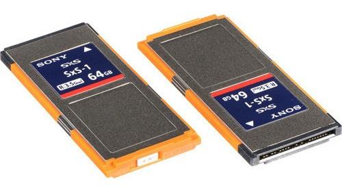 2 Cartões Memória Pro Sony 64gb Sxs-1 G1c Series (2-pack)
