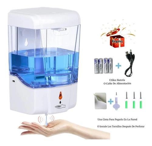 Imagen 1 de 10 de Dispensador Automático Despachador Gel Jabón Antibacteriano
