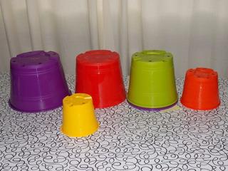 Macetas De Plastico N° 12 X 10 Unidades