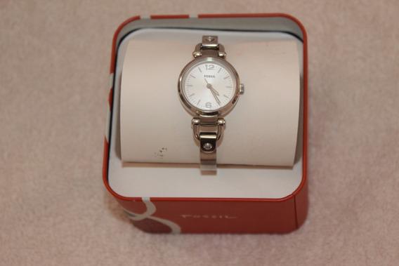 Relógio Fossil Prata Feminino Original Importado Usado