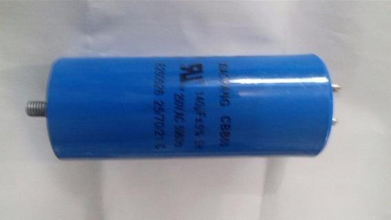 Capacitor 125uf 250vac P/compressor 2cv Dwt, Vonder, Outros