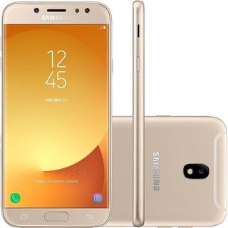 Celular Samsung Galaxy J7 Pro 64gb Dourado Excelente Usado