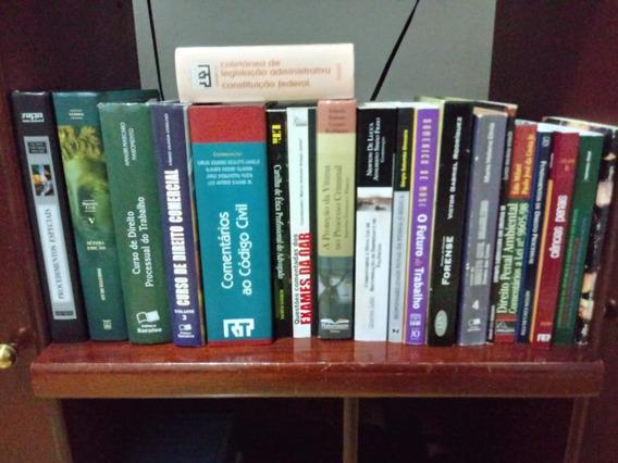 Livros De Direito Pacote Com 20 Unidades
