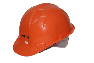 Casco De Seguridad Naranja Pretul 25036