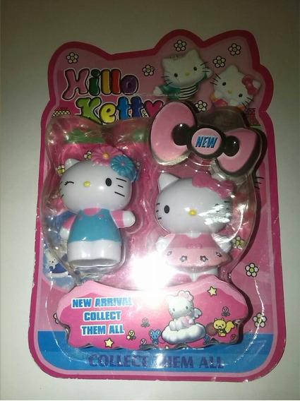 Figura De Coleccion Hello Kitty Juguetes Niños 7ctms