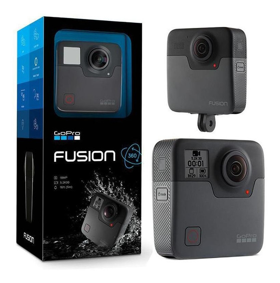 Camera Digital De Video Gopro Fusion 360° (chdhz-103)