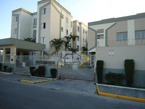 Apartamento Com 2 Dormitórios À Venda, 59 M² Por R$ 190.000 - Vila Urupês - Suzano/sp - Ap0225