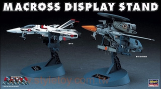 Macross Robotech Hasegawa Stands Fighters 1/72