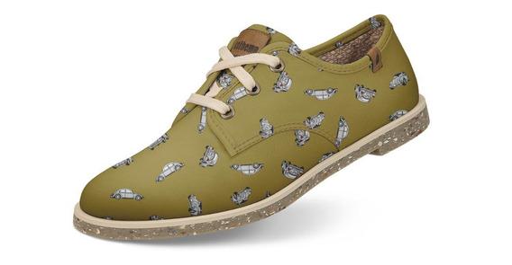 Sapato Casual Usthemp Legend Vegano Fusca