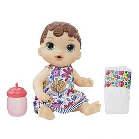 Baby Alive Original Hora Do Xixi Morena Nova Lacrada