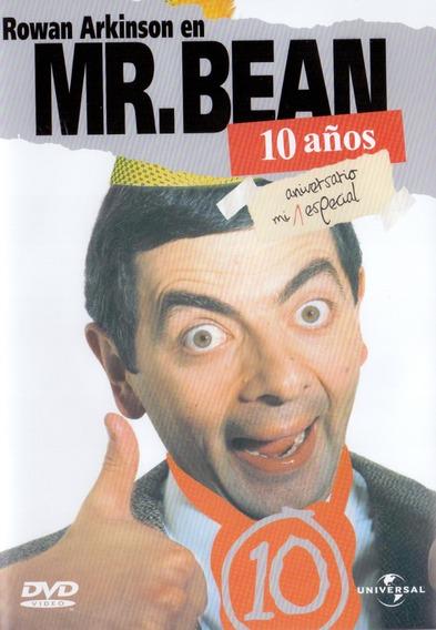 Mr Bean 10 Diez Años Aniversario Mi Especial 5 Episodios Dvd