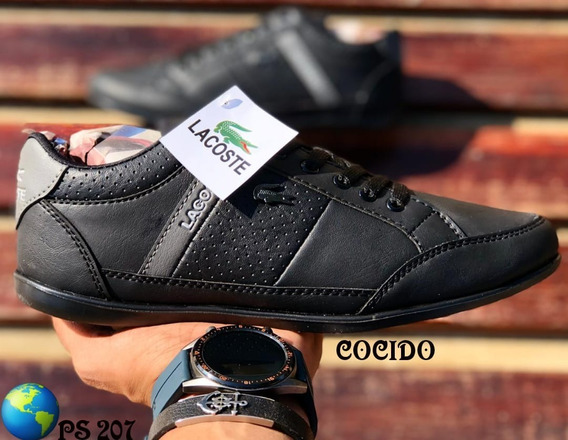 Combo Zapato Y Bolso Lacoste, Calzado Hombre, Zapato Cocido