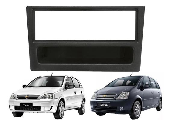 Marco Adaptador Con Gaveta Para Stereo Simple Din De Chevrolet Meriva Corsa Vectra